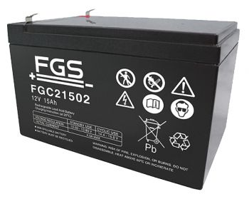 FGS FGC21502 Traction AGM Batterie 12V 15Ah Zyklentyp