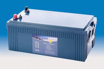 hzy mr12 230 haze marine blei gel batterie 12v 230ah. Black Bedroom Furniture Sets. Home Design Ideas