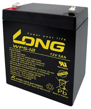 Kung Long WP5-12 AGM Batterie / Bleiakku 12V 5Ah
