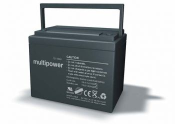 Multipower MP36-12C Bleiakku 12V 36Ah zyklenfest