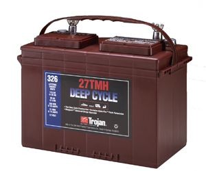 Trojan 27TMH deep cycle Batterie 12 Volt 115 Ah
