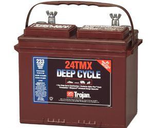 Trojan 27TMX deep cycle Batterie 12 Volt 115 Ah