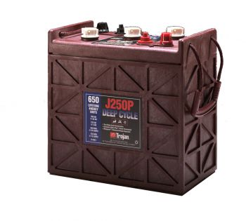 Trojan J250P deep cycle Batterie 6 Volt 250 Ah