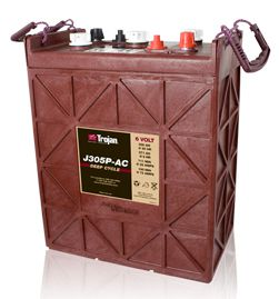 Trojan J305P-AC deep cycle Batterie 6 Volt 330 Ah