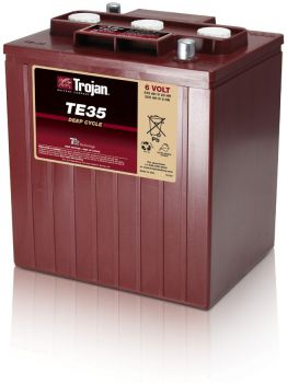 Trojan TE35 deep cycle Batterie 6 Volt 245 Ah