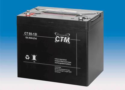 ctm wartungsfreie agm batterie bleiakku ct80 12i 12 volt. Black Bedroom Furniture Sets. Home Design Ideas