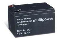 Multipower MP12-12C Bleiakku 12V 12Ah zyklenfest