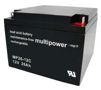 Multipower MP26-12C Bleiakku 12V 26Ah zyklenfest