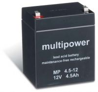 Multipower MP4,5-12 AGM Batterie / Bleiakku 12V 4,5Ah