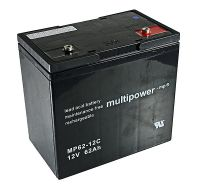 Multipower MP62-12C Bleiakku 12V 62Ah zyklenfest
