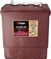 Trojan J305E-AC deep cycle Batterie 6 Volt 305 Ah